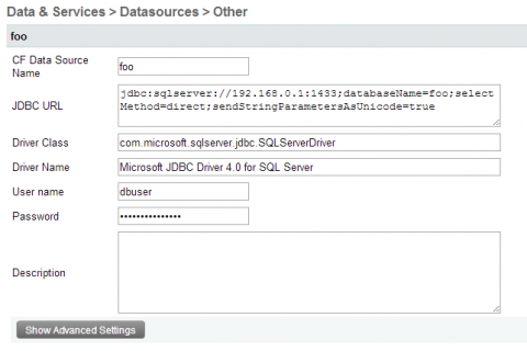 Configure Microsoft JDBC Driver 4.0 for SQL Server
